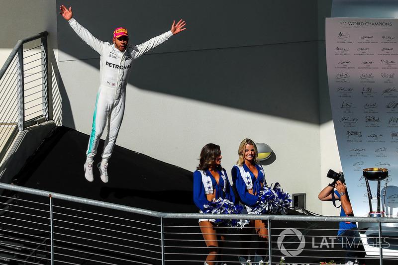 Льюіс Хемілтон, Mercedes AMG F1, із грід-гьолз