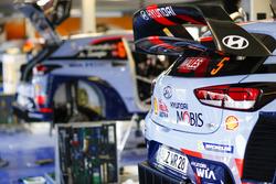 Car detail of Thierry Neuville, Nicolas Gilsoul, Hyundai i20 WRC, Hyundai Motorsport