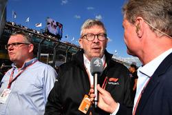 Joe Saward, Gzeteci, Ross Brawn, Formula 1 Motorsporları Direktörü, David Coulthard