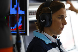 Claire Williams, subdirectora del equipo, Williams