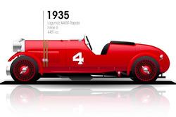 1935 Lagonda M45R Rapide
