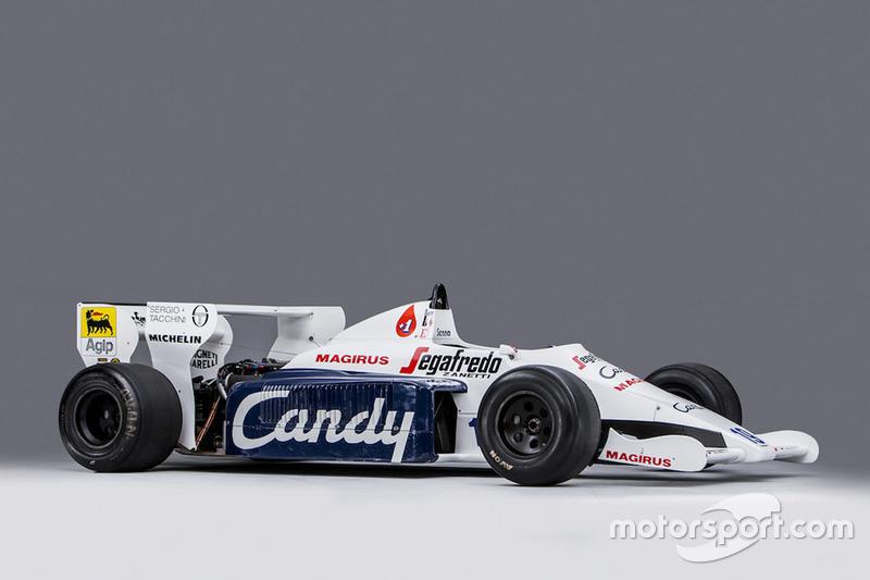 Toleman-Hart TG184-2 uit 1984 van Ayrton Senna