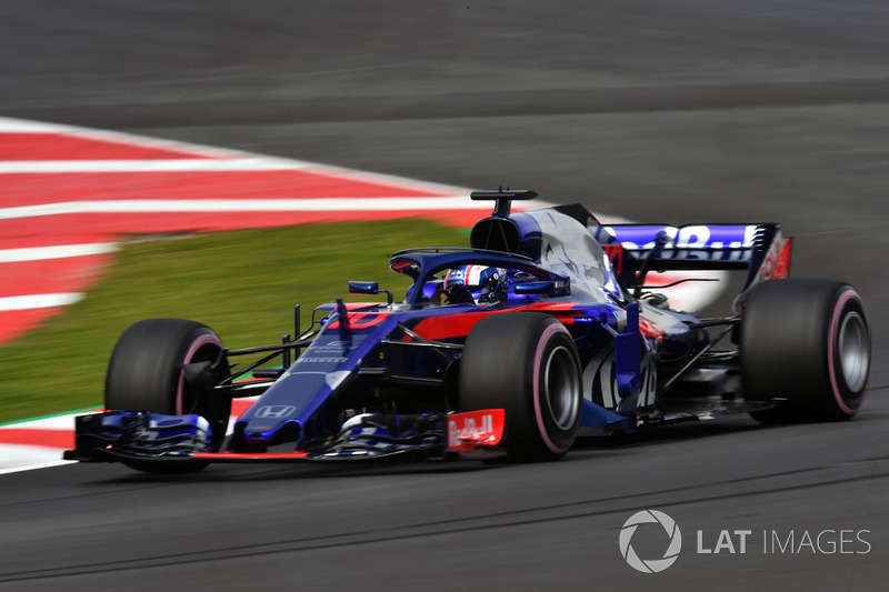 7º Pierre Gasly, Scuderia Toro Rosso STR13: 1:18.363 (Hiperblandos)