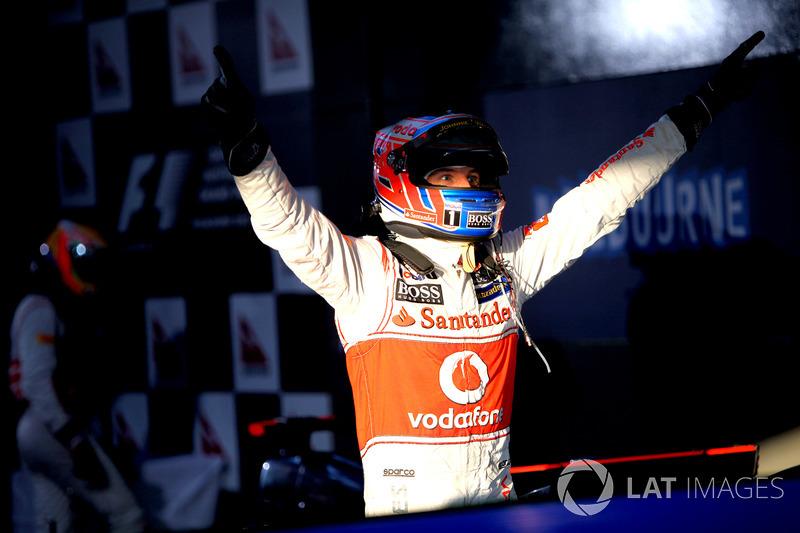 26º Jenson Button (5 victorias desde la pole) (el 62'5 % de sus victorias)