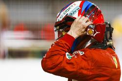 Kimi Raikkonen, Ferrari, deuxième des qualifications