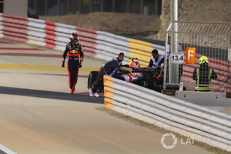 Max Verstappen, Red Bull Racing RB14 Tag Heuer, gagal finis