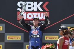 Podio: Federico Caricasulo, GRT Yamaha Official WorldSSP Team