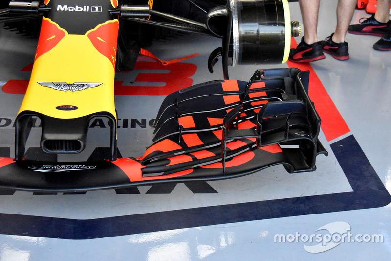 Макс Ферстаппен, Red Bull Racing RB14, переднє антикрило