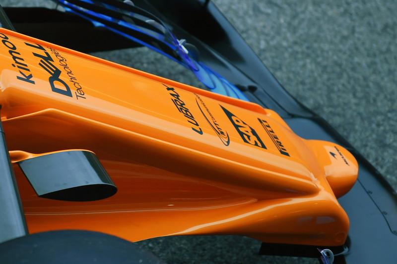 McLaren MCL33, ніс