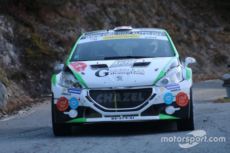 Cedric Althaus, Jessica Bayard, Citroen DS3 R5, Lugano Racing Team