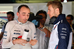 Robert Kubica, Williams and Sergey Sirotkin, Williams
