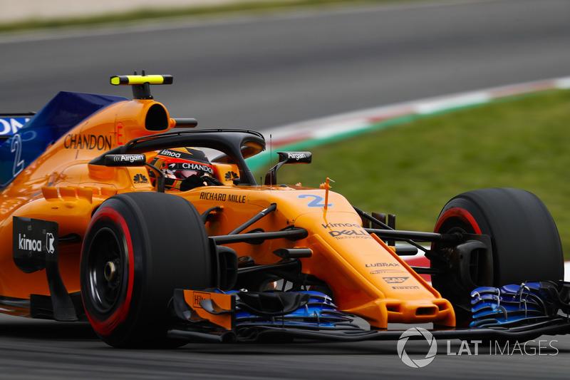 11: Stoffel Vandoorne, McLaren MCL33, 1'18.323