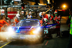 Pit stop, #75 T2 Motorsport Ferrari 488 GT3: Gregory Teo, David Tjiptobiantoro, Christian Colombo, Matteo Cressoni
