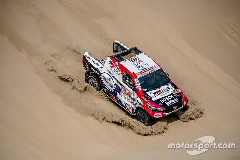 #309 Toyota Gazoo Racing Toyota: Бернхард тен Брінке, Мішель Перен