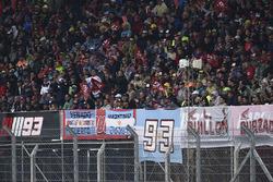 Fans of Marc Marquez