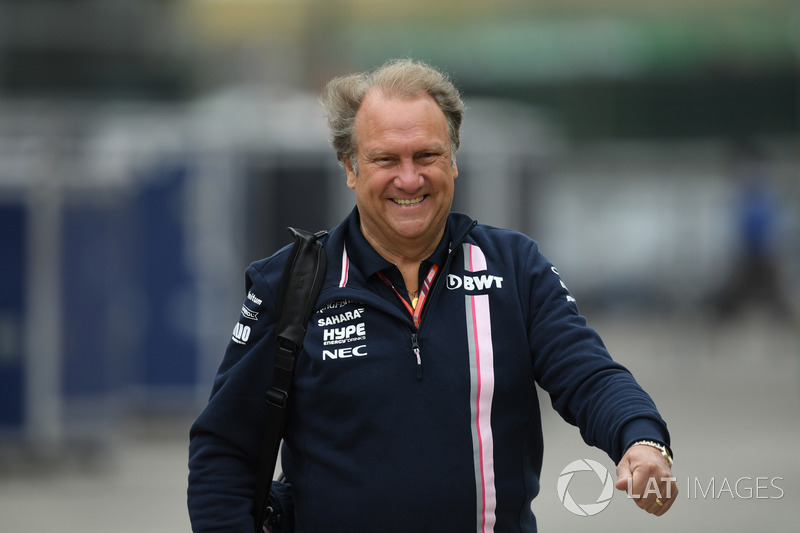 Robert Fernley, Force India F1 Team Deputy Team Principal