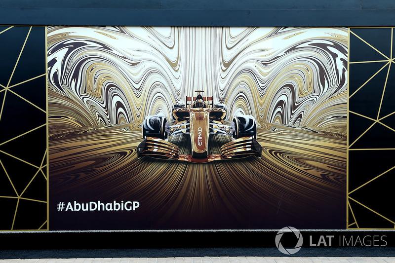 Abu Dhabi também mostrou sua ate de rua.