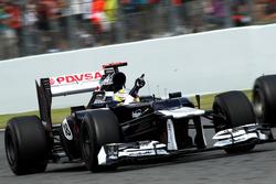 Il vincitore della gara, Pastor Maldonado, Williams FW34