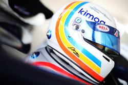 Helmet of Fernando Alonso, United Autosports
