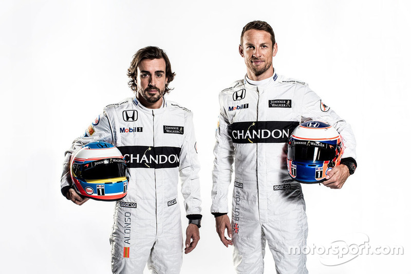 Fernando Alonso and Jenson Button, McLaren