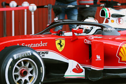 Sebastian Vettel, Ferrari SF16-H running the Halo cockpit cover