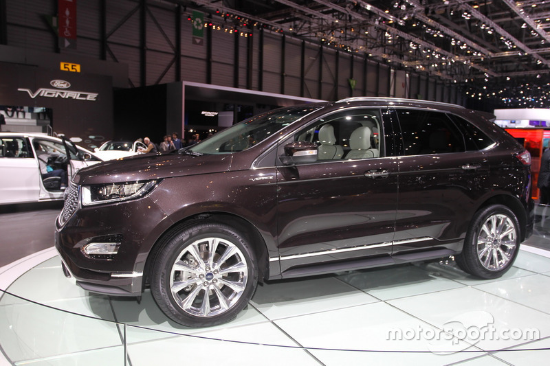 ford edge vignale at geneva international auto show. Black Bedroom Furniture Sets. Home Design Ideas