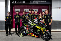 Jonas Folger, Monster Yamaha Tech 3 with the team
