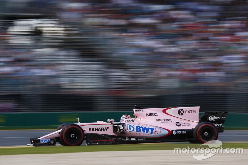 10. Серхио Перес, Sahara Force India F1 VJM10
