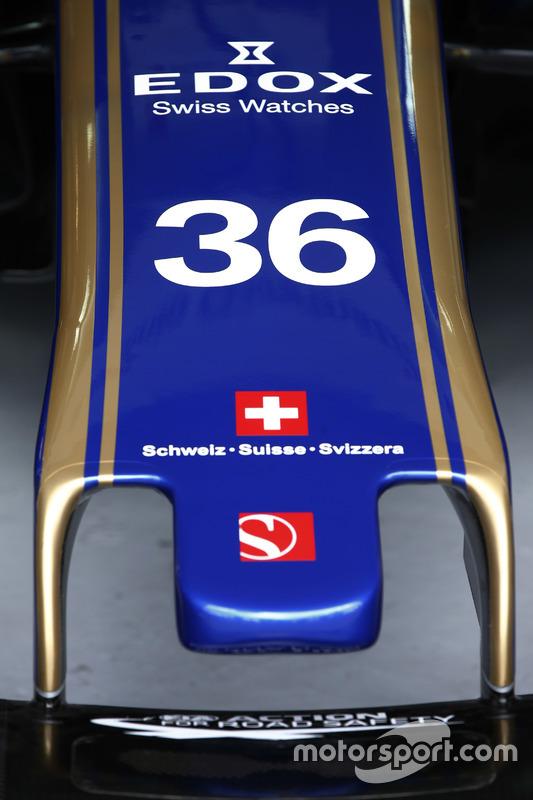 Auto von Antonio Giovinazzi, Sauber C36