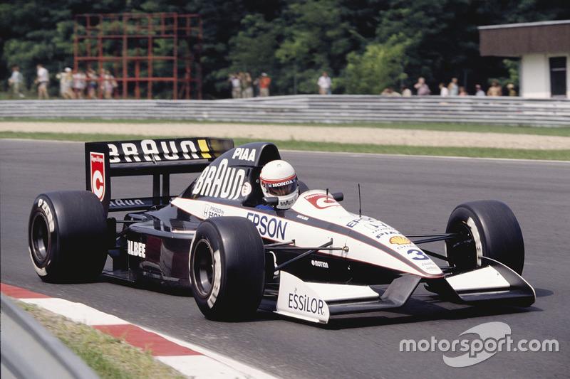 Satoru Nakajima, Tyrrell 020, Honda