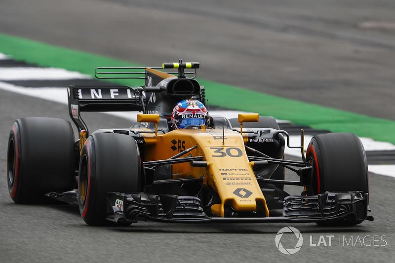 Defekt: Jolyon Palmer, Renault Sport F1 Team RS17