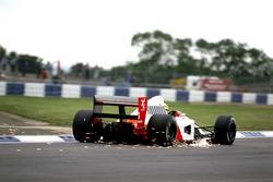 Funkenflug: Ayrton Senna, McLaren MP4/7A