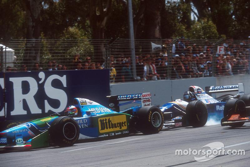 A prova australiana decidiu duas vezes o campeonato, em 1986 e 1994. Na 1ª ocasião, um estouro de pneu de Mansell deu o título a Prost. Na 2ª, Michael Schumacher jogou seu carro em Damon Hill para impedir a passagem do rival, e assim garantiu o título.