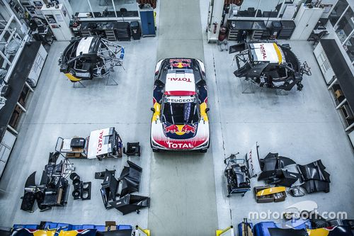 Designpräsentation: Peugeot 3008 DKR