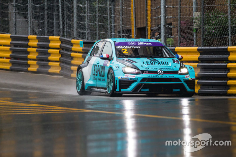 Pole Postion:Jean Karl Vernay, Leopard Racing Team Volkswagen Golf GTI