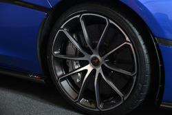 McLaren 570S Spider detalle del volante