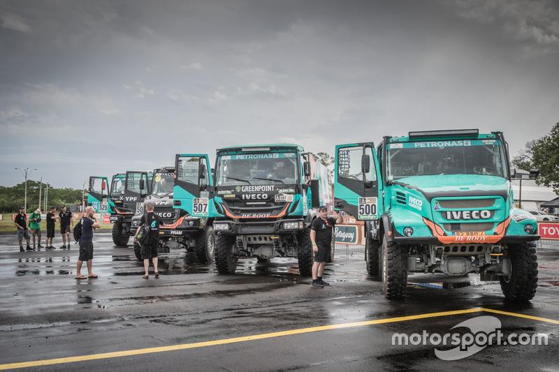 Todos los camiones del Team De Rooy