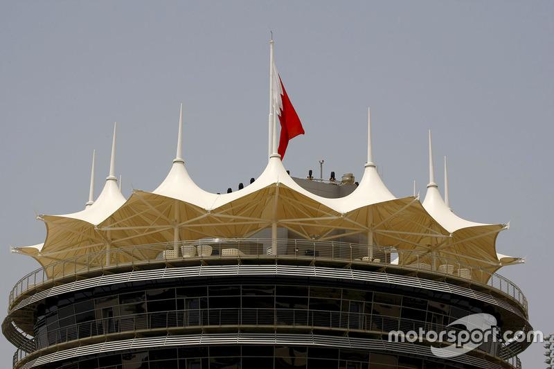 Start/ZIel-Turm am Bahrain International Circuit