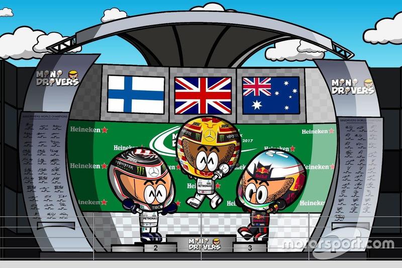 El GP de Canadá de F1 según Los MiniDrivers