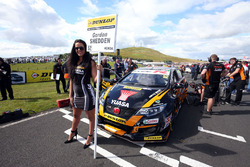 Grid girl of Gordon Shedden, Team Dynamics Honda Civic Type R