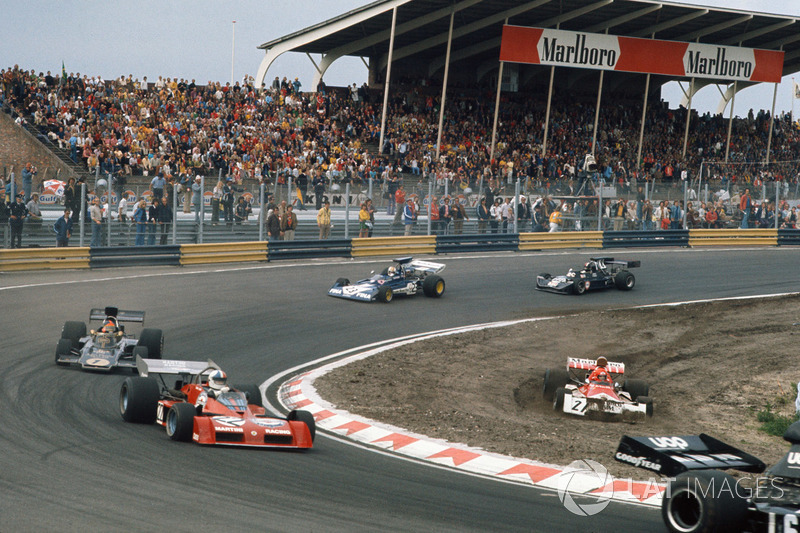 Нікі Лауда, BRM P160E, Кріс Амон, Tecno PA123B, Емерсон Фіттіпальді, Lotus 72E Ford, Майк Хейлвуд, Surtees TS14A Ford, Девід Пьорлі, March 731 Ford