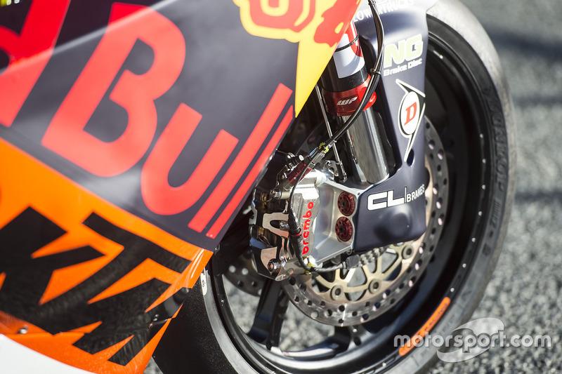 Bike von Brad Binder, Red Bull KTM Ajo