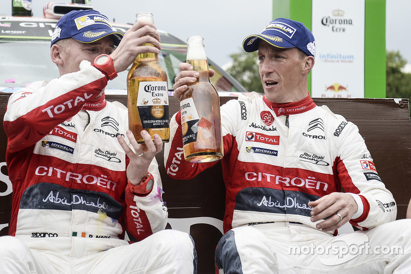 Переможці Кріс Мік, Пол Нейгл, Citroën World Rally Team