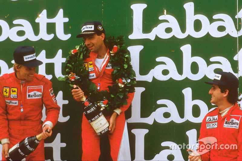 Michele Alboreto* (3 victorias)
