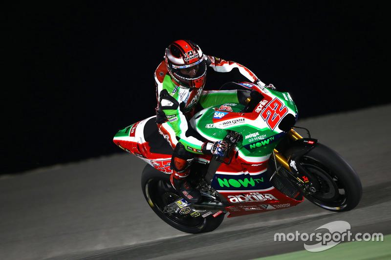 19. Sam Lowes, Aprilia Racing Team Gresini, +1,837