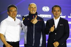 Katsuhide Moriyama, Honda, Masashi Yamamoto Honda-Motorsportchef, Franz Tost, Toro-Rosso-Teamchef