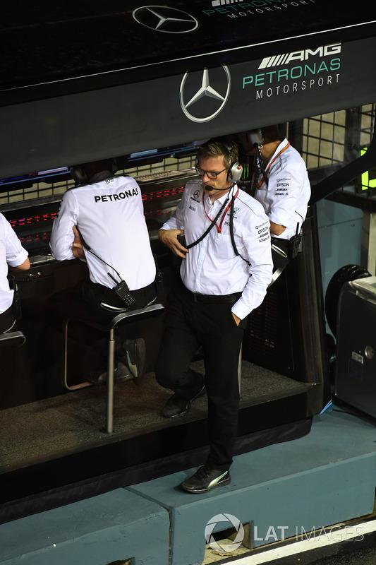 James Allison, Mercedes-Technikchef