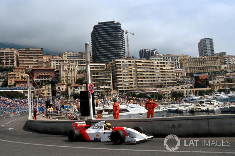 Победа в 1993-м – шестая и последняя для Сенны в Монако