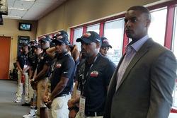 Jusan Hamilton e la NASCAR Drive for Diversity Pit Crew, conferenza stampa