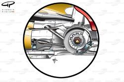 Renault R30 rear suspension